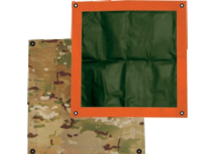 Thermal ID Patches for Personnel rescue