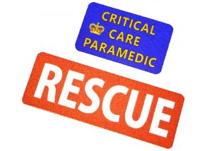 patch rescue réfléchissant