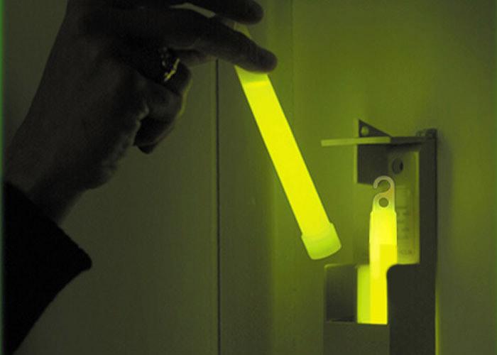 SEE System Cyalume bâton lumineux dans boitier pour évacuation