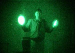 baton IR 10cm pour activites aeroportees de nuit