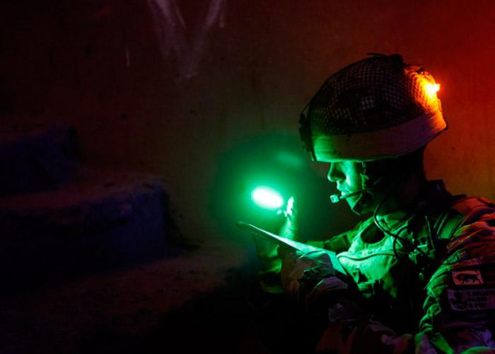 baton cyalume pour militaires coolight