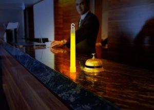 baton lumineux 15cm SnapLight panne de courant dans hotels