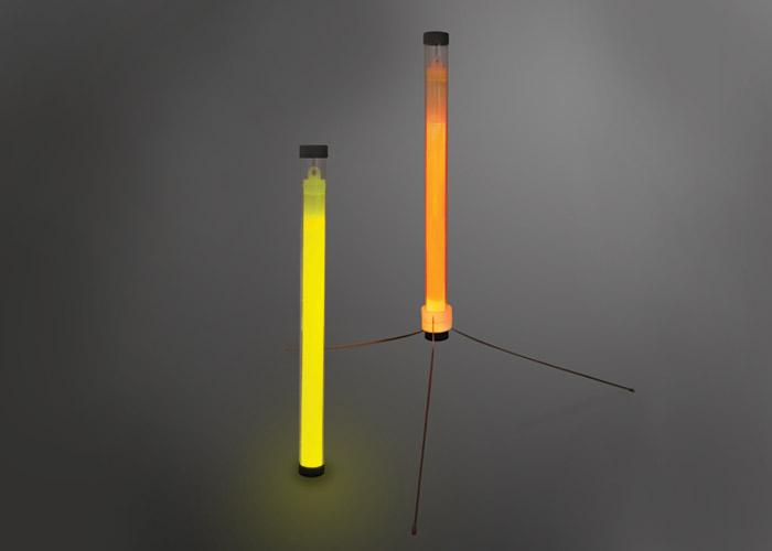 baton lumineux chemlight 25cm balisage de routes