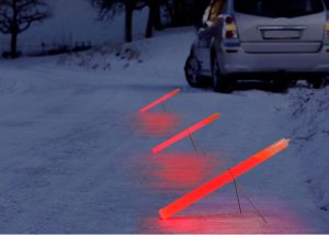 baton lumineux illumination lieux d accident