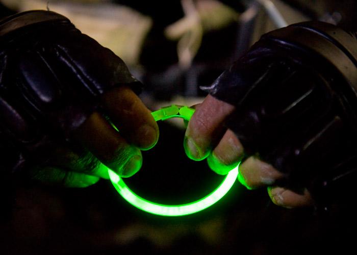 bracelet lumineux marquage individuel