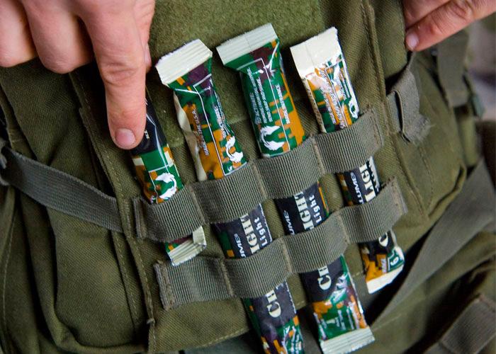 chemlight 10cm baton lumineux pour operations de combat