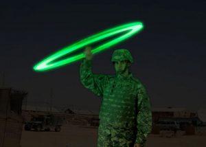 dispositif de signalement lumineux SOS pour équipes de secours