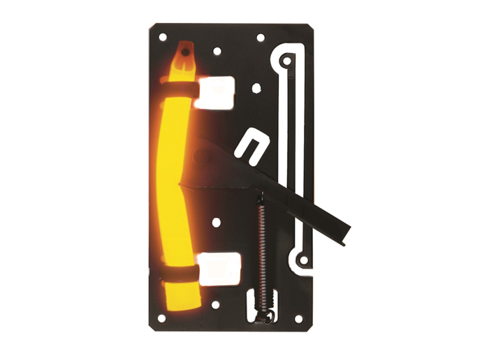 fil piège cyalume avec baton lumineux orange ultra haute intensité