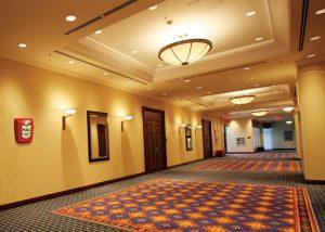 Lumières pour évacuation d'urgence dans hôtels