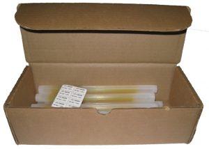 pack de recharge de bâtons lumineux 25cm pour boitiers d'évacuation