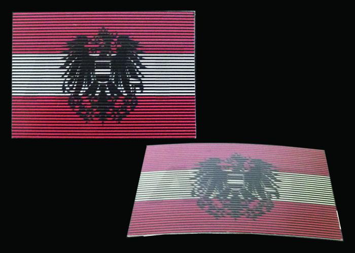 drapeau autrichien dual infrarouge visuel et ir