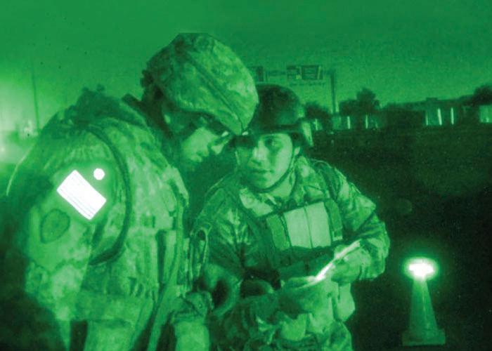 drapeau infrarouge réfléchissant identification IFF