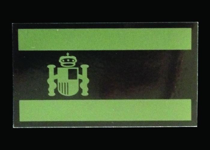 drapeau infrarouge vert olive