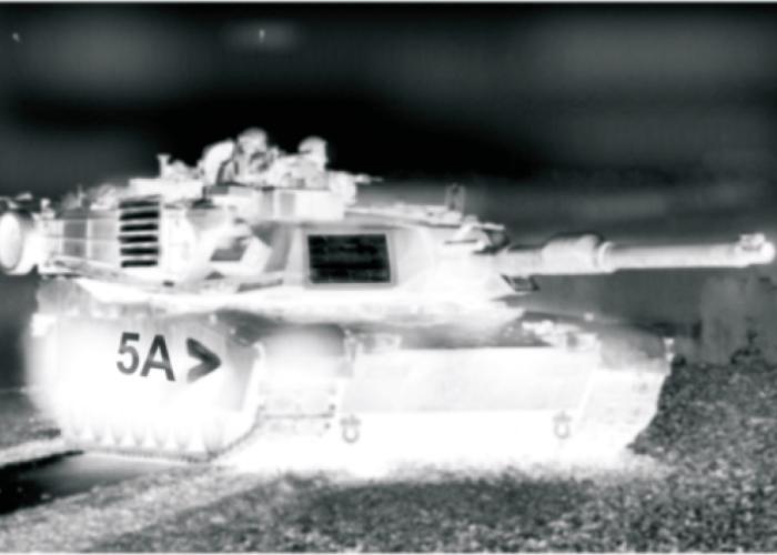 identification thermique au combat marquage char