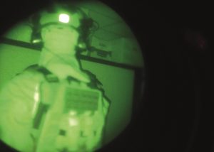 patch IFF infrarouge velcro