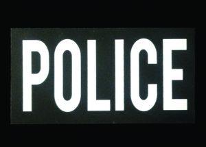 patch IR réversible doufle face Police