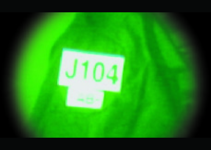 patch infrarouge indicatif d'appel