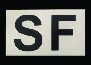 patch lettres et symboles IR