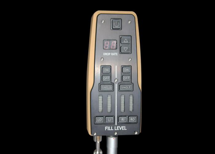 télécommande du razorback pour contrôle des réservoirs de marqueurs lumineux