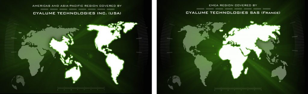 international cyalume presence through distributor network