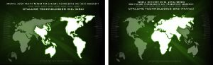 Internationale Vertriebsabdeckung Cyalume Praesenz