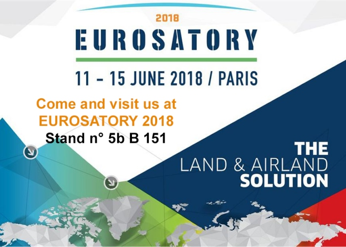 cyalume exhibits at eurosatory 2018