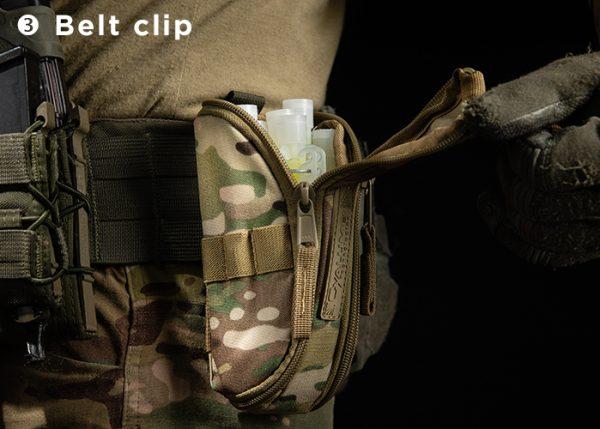 Cypouch cyalume holster belt clip