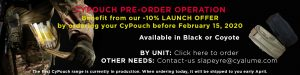 promotionnal offer cypouch tactical cyalume holder