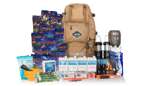 Comfort 4 sustain bag Go bag 4 people 72 hours
