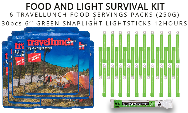 Food and Light survival kit