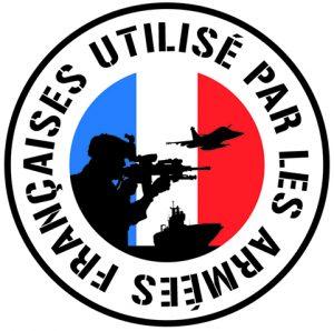 Label UAF Cyalume Utilisé par les armées françaises