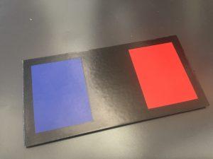 Drapeau IR France en couleur