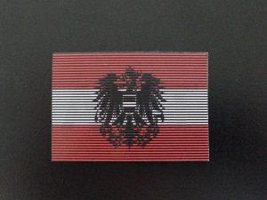 drapeau autrichien double IR