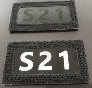 patch infrarouge call sign appel